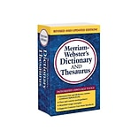 Merriam-Websters Dictionary and Thesaurus, Paperback (978-0-87779-732-6)