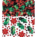Amscan Christmas Botanical Confetti, 2.5oz, 3/Pack (378634)