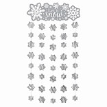 Amscan Snowflake Doorway Curtain, 77 X 39, 2/Pack (240584)
