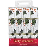 Amscan Holly and Berries Crackers, 9.25 (396241)