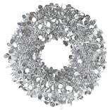 Amscan Tinsel Wreath, Silver, 17, 2/Pack, (240609)