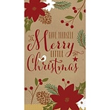 Amscan Merry Little Christmas Guest Towel 7.75 x 4.5, 3/Pack, 36 Per Pack (831557)