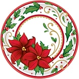 Amscan Winter Botanical Paper Plate, 9 x 9 (751177)