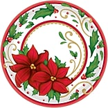 Amscan Winter Botanical Paper Plate, 7 x 7 (741177)