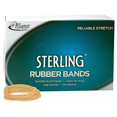 Alliance Sterling Multi-Purpose Rubber Bands, #18, Box, 1900/Box (24185)