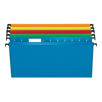 Pendaflex SureHook Hanging File Folders, Legal Size, Assorted Colors, 20/Box (PFX 6153 1/5 Asst)