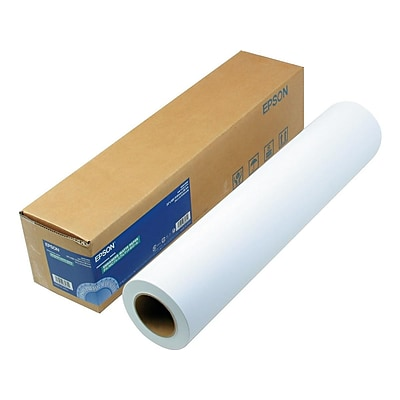 Epson Enhanced Wide Format Roll Paper, Matte, 24 x 100 (S041595)