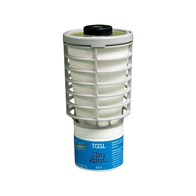 Rubbermaid TCell Passive Air Systems & Accessories, Blue Splash, 6/Carton (FG402112)