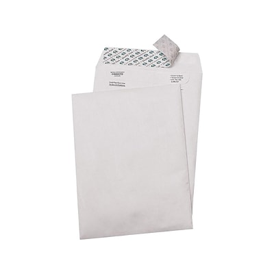 Quality Park Survivor Self Seal Catalog Envelopes, 9L x 12H, White, 100/Box (QUAR1460)