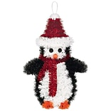 Amscan Penguin Tinsel Decoration, 6.75 x 4.25, 5/Pack (241612)