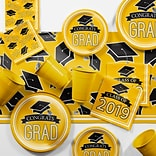 Creative Converting Yellow 2019 Graduation Party Supplies Kit (DTCSBYLW2E)
