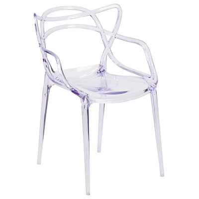Nesting Series Transparent Stacking Side Chair [FH-173-APC-GG]