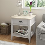 Altra Newport Accent Table with Drawer, Sharkey Gray (3598319PCOM)