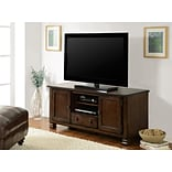 Altra Summit Mountain Wood Veneer 55 TV Stand, Espresso (1733096)