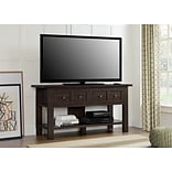 Altra Pillars Apothecary 55 TV Stand and Console Table, Cherry (1225096PCOM)