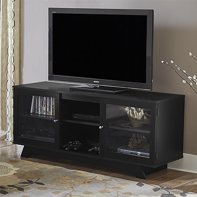 Ameriwood Home Englewood TV Stand for TVs up to 55, Black (1222056PCOM)
