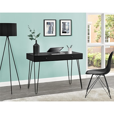 Altra Owen Retro Student Desk, Black (9890196COM)
