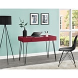 Altra Owen Retro Student Desk, Red (9890096COM)
