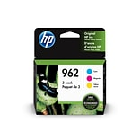 HP 3YP00AN#140 Color Ink Cartridge, Standard Yield, 3/Pack