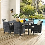 Summon 70 Outdoor Patio Dining Table in Gray (889654027324)