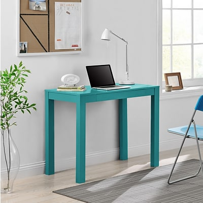 Altra Parsons Desk with Drawer, Teal