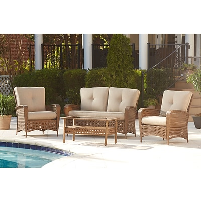 Cosco Lakewood Ranch Patio Set wicker (88590ABTTE)
