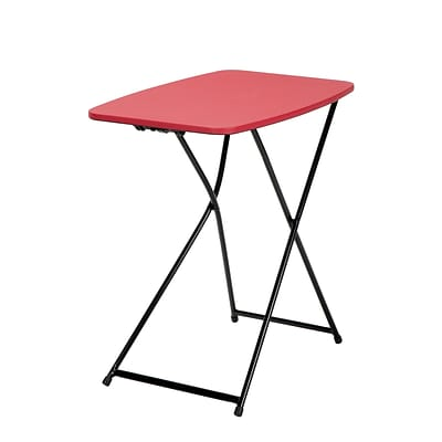 Cosco Personal Folding Table, Red 2 pack (37129RBK2E)
