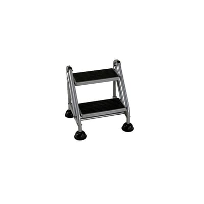 Cosco Rolling Commercial Step Stool 2-Step
