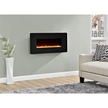 Altra Kenna 35 Wall Mounted Electric Fireplace, Black (5033096COM)