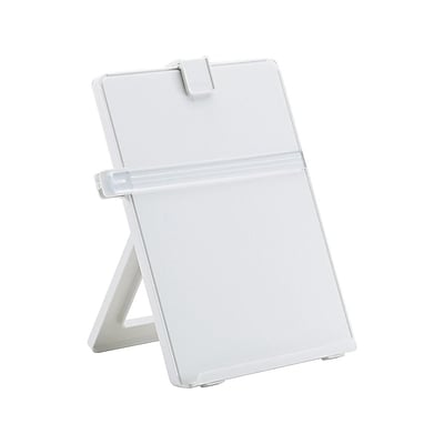 Fellowes Non-Magnetic Desktop Copy Holder, Letter, Platinum (21103)
