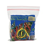 Alliance Rubber Reusable Solutions Multi-Purpose Rubber Bands, #117B, Resealable Bag, 50/Pack (07807