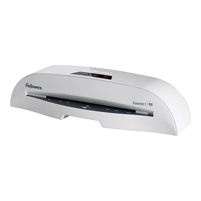 Fellowes Cosmic 2 95 Thermal & Cold Laminator, 9.5 Width, White (5725601)