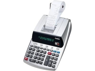 Canon MP25DV 3 2202C001 12 Digit Desktop Printing Calculator, Gray