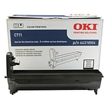 OKI 44318504 Black Drum Cartridge, Standard Yield