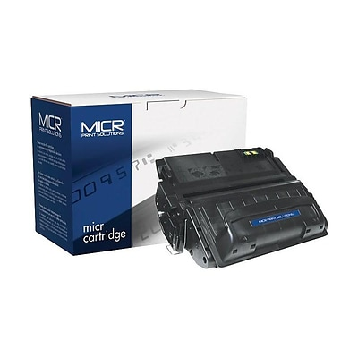 MICR Print Solutions HP 42A MICR Cartridge, Black (MCR42AM)