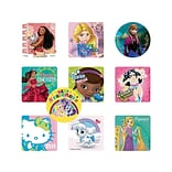 SmileMakers Stickers, Assorted Colors, 1000/Box (GIRL)