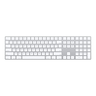 Apple Magic Wireless Keyboard, Silver (MQ052LL/A)