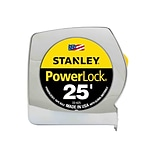 Stanley PowerLock 25 Tape Measure, Mylar-coated (33-425)