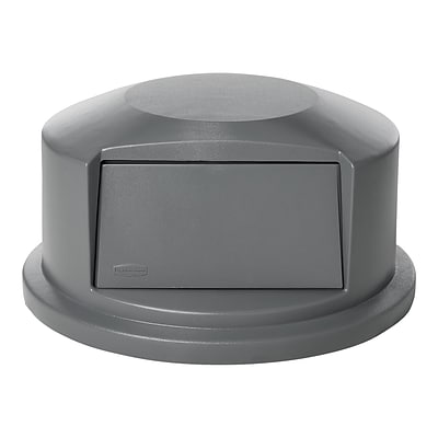 Rubbermaid BRUTE Outdoor Lid, Gray Polyethylene, 44 Gal. (FG264788GRAY)