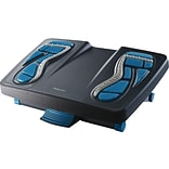 Fellowes Energizer Footrest, Charcoal/Blue/Gray (8068001)
