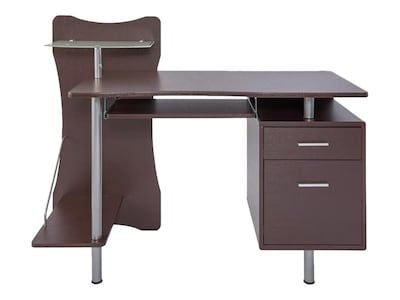 "Techni Mobili 51""W Computer Desk, Brown (RTA-325-CH36)"