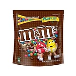 M&MS Milk Chocolate Candy, 38 oz Party Size Resealable Bag (MMM55114)