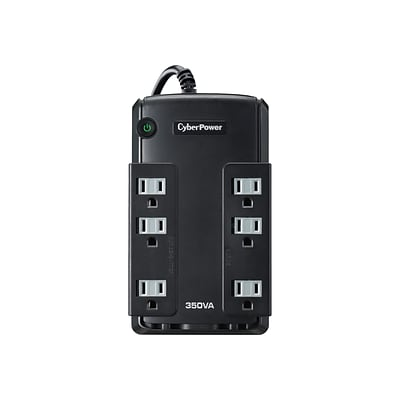 CyberPower PC Battery Backup UPS, Black (CP350COM)
