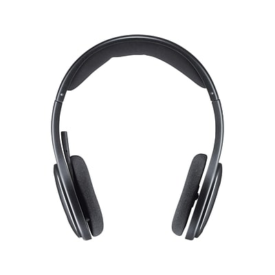 Logitech H800 Wireless Computer Headset, Over-the-Head, Black (981-000337)