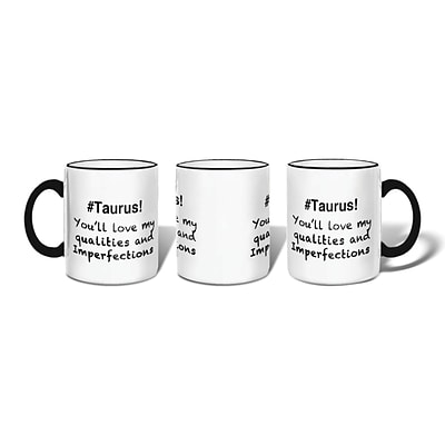 Retrospect Group #TAURUS Ceramic 11 Ounce Mug (MUG018)