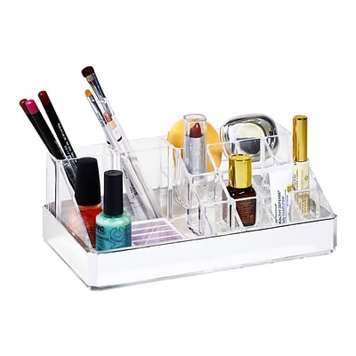 Simplify16 Section Cosmetic and Jewelry Holder in Silver