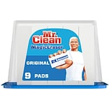 Mr. Clean Magic Eraser Original Scrubber with DURAFOAM, Multi-Surface, White, Pack of 9 (79344)