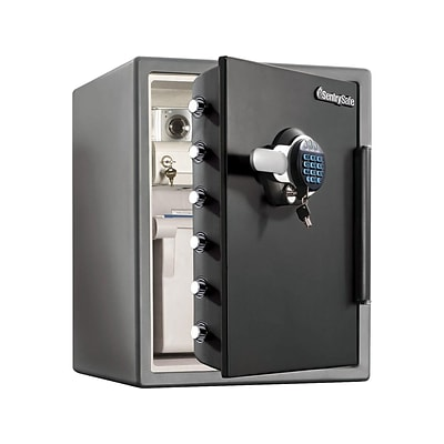 SentrySafe Steel Fire/Waterproof Safe with Keypad, 2 cu. ft. (SFW205GRC)