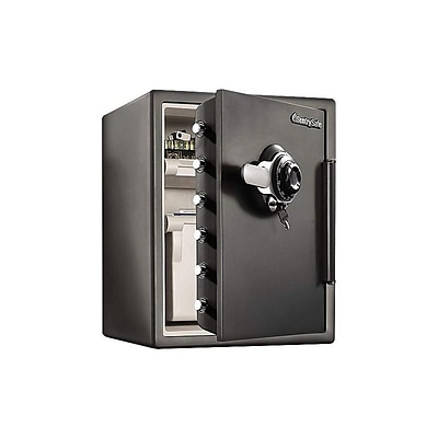 SentrySafe Steel Fire/Waterproof Safe with Combination, 2 cu. ft. (SFW205DPB)