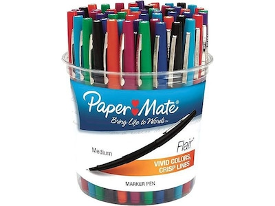 Chisel Tip Paper Mate Intro Highlighter 4 BOXES 48-count Fluorescent Yellow